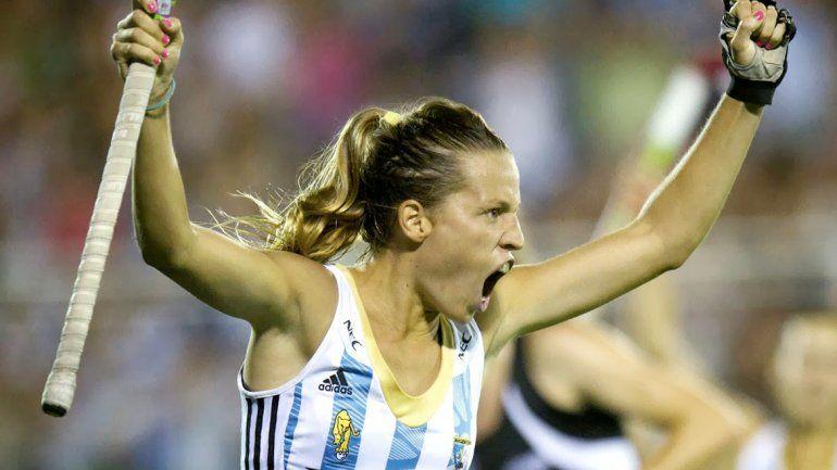 Delfina Merino es una de las figuras de Las Leonas y una garantía de gol. Su nivel ascendente la llevó a ser considerada una de las mejores del mundo.