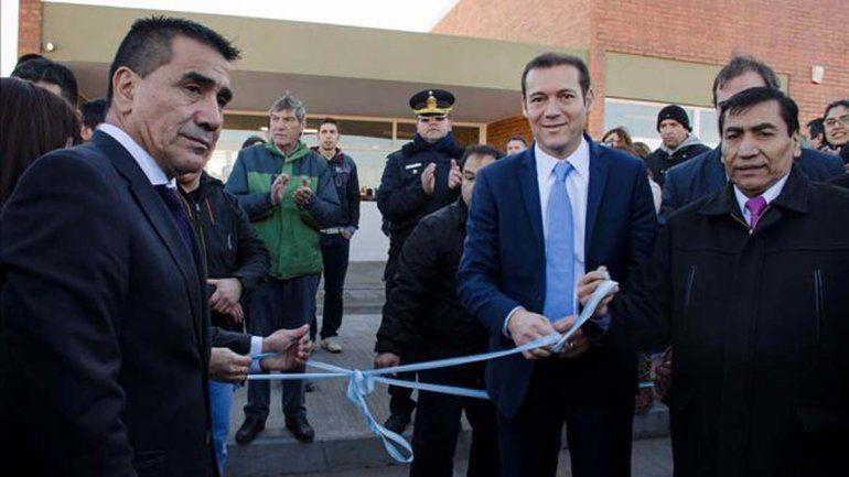 Gutiérrez inauguró la Escuela Especial Laboral de Cutral Co