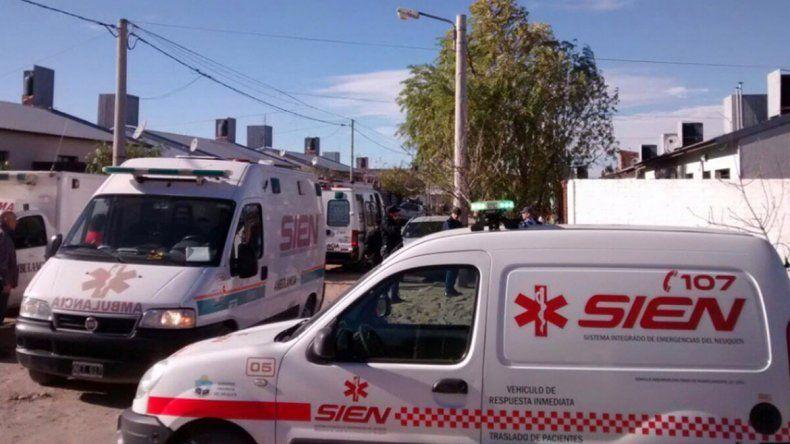 Hospitalizaron a una familia que se intoxicó con monóxido de carbono en el barrio Z1