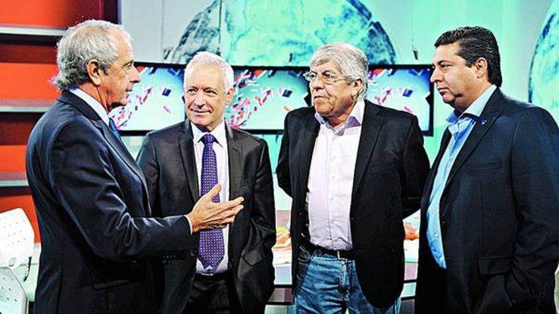 Moyano es el único de los cuatro que quiere las elecciones en AFA.
