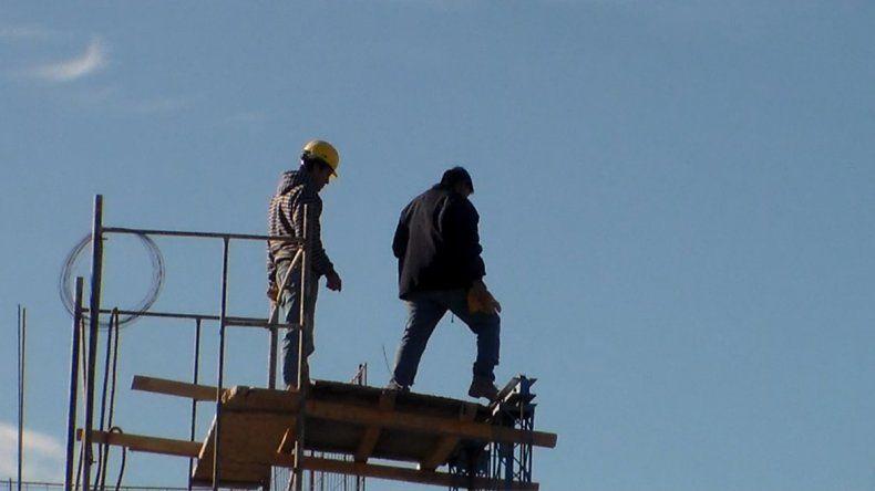El sector de la construcción registró la mayor caída laboral.