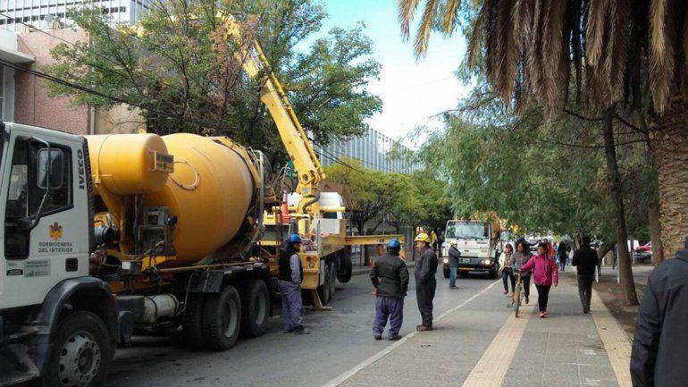 Cortarán el tránsito en calle Independencia por cuatro días