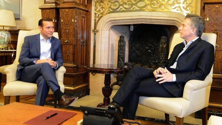 El gobernador Omar Gutiérrez se reunió con el presidente Mauricio Macri.
