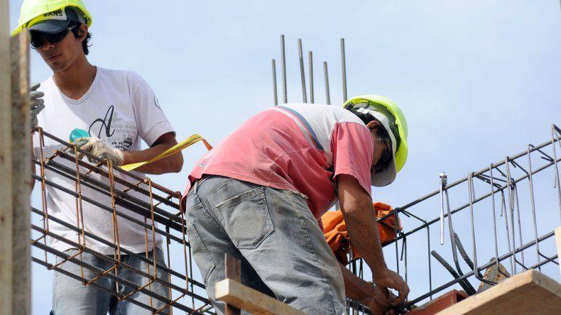 El empleo en la construcción cayó en picada