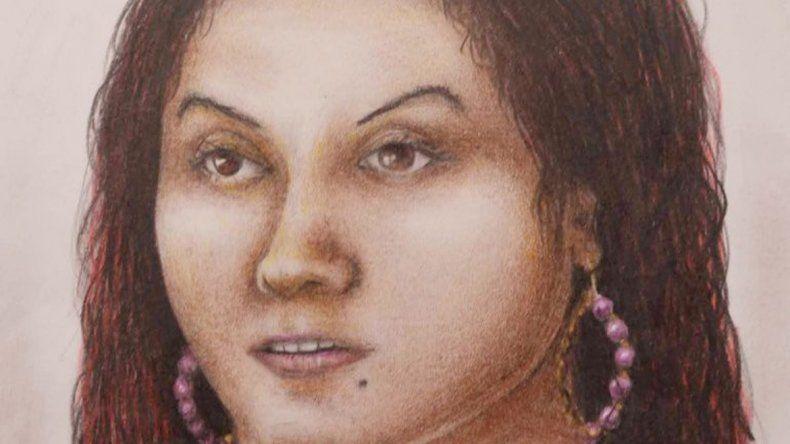 Un identikit ayudó a conocer la identidad de Rosario Giménez.
