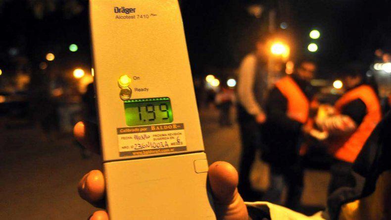 El primer mes de tolerancia cero al volante registró 76 casos de alcoholemia positiva