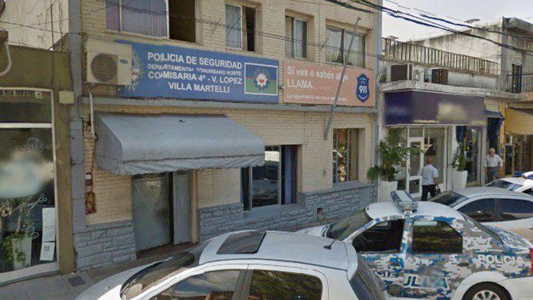 Efectivos de la comisaría de Villa Materlli trabajan para dar con los atacantes.    En este lugar los depravados cometieron el ataque a la joven.