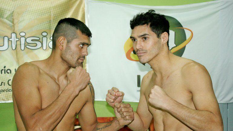 César Vélez y Mauro Godoy se miraron feo en la conferencia.