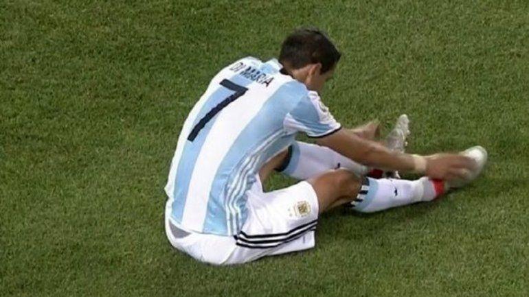 ¿Se pierde la Copa América? Di María habría sufrido un desgarro