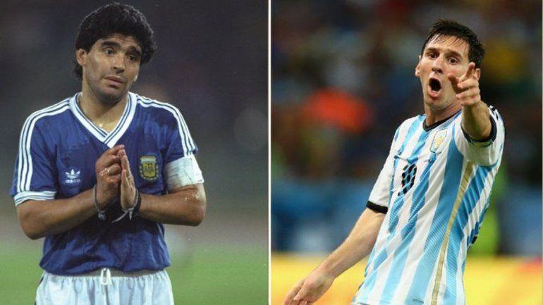 Messi no se calló y le contestó a Maradona por sus polémicas declaraciones