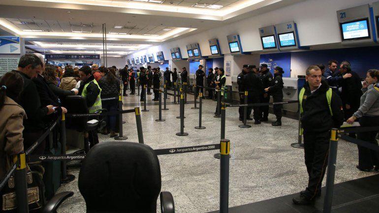 La Policía de Seguridad Aeroportuaria