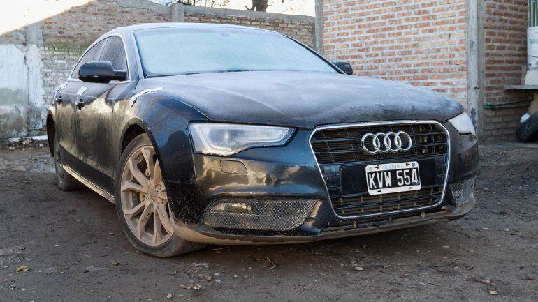 El vehículo quedó secuestrado en la Comisaría 24ª.
