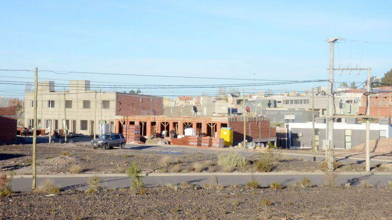 Por los desarrollos inmobiliarios