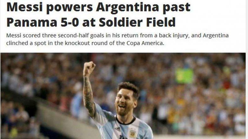 Los medios de Estados Unidos y el mundo se rindieron a los pies de Messi y dedicaron gran parte de sus tapas al 10 argentino.