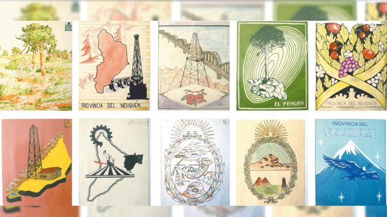 La historia del concurso para crear el escudo de Neuquén