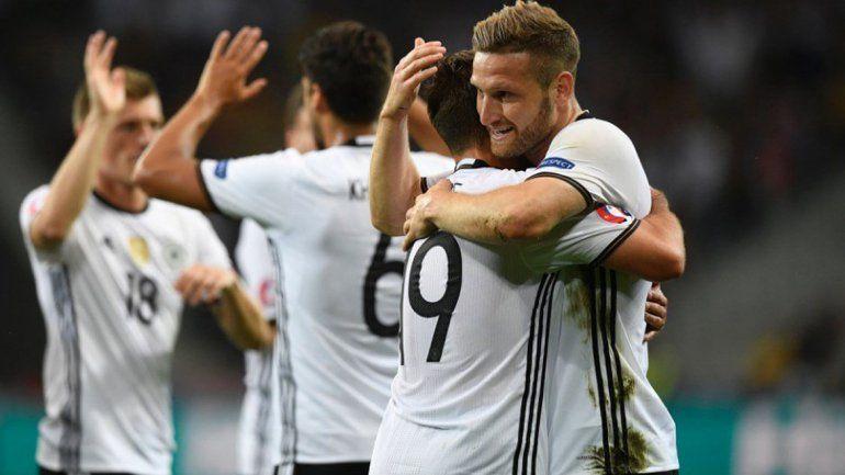 Alemania no brilló, pero derrotó a Ucrania por 2 a 0