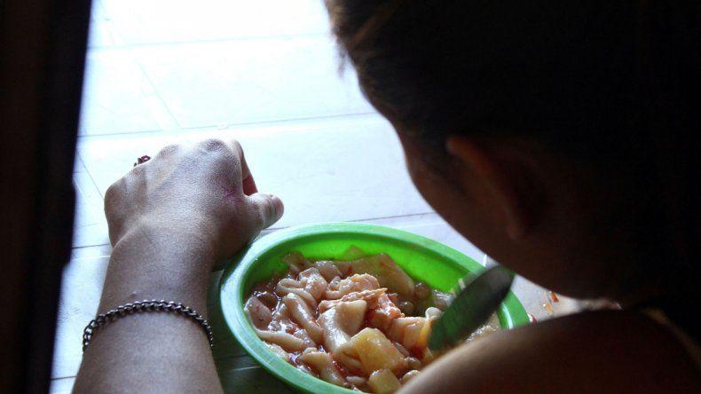 Muchos chicos concurren a los comedores y merenderos. Los organizadores realizan un gran trabajo solidario.