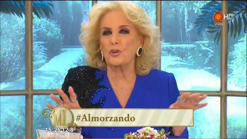 El reto de Mirtha