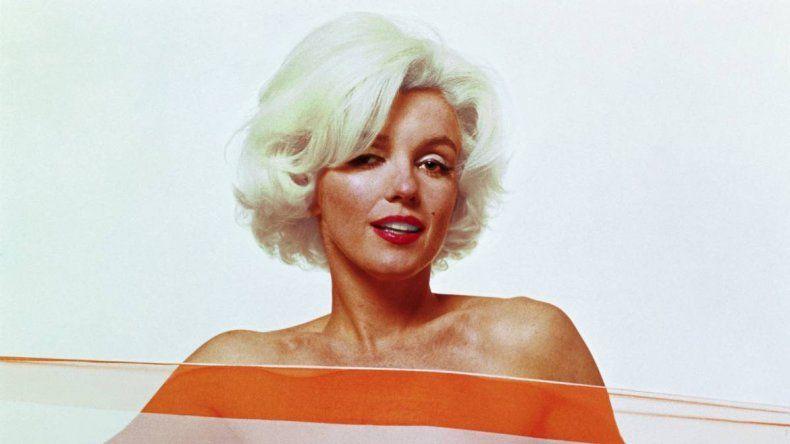 Última sesión de fotos de Marilyn Monroe