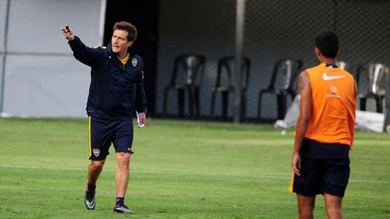 El Guille ordenó mucho al equipo en los primeros 30 minutos de fútbol.