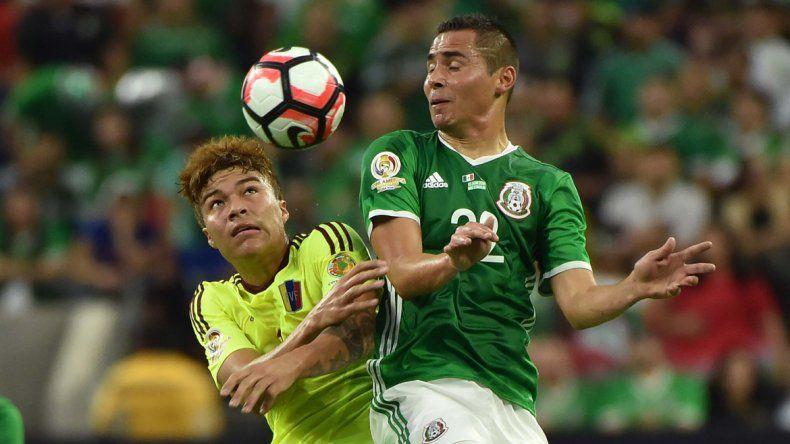 México empató con Venezuela por el Grupo C.
