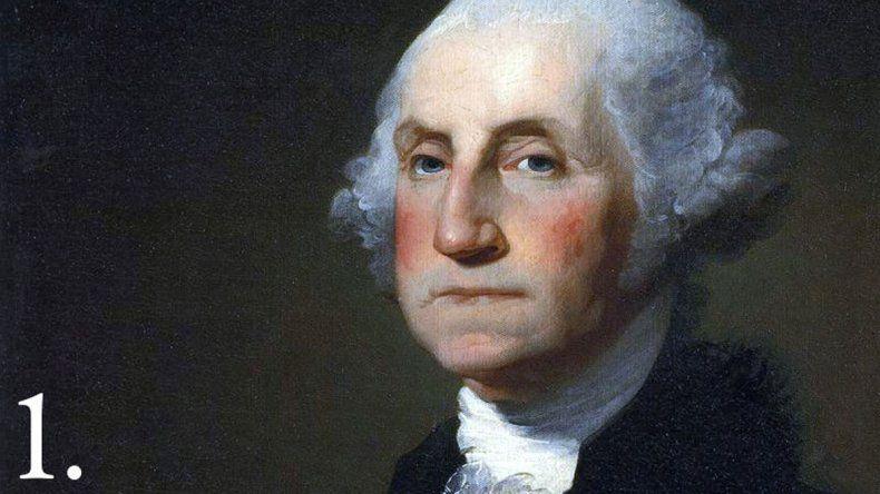 George Washington utilizó los mapas para vencer a la flota francesa.