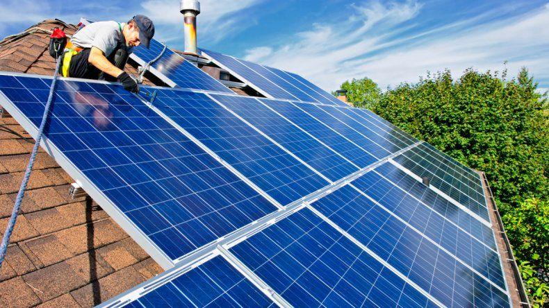 Paneles solares. Según el IAPG