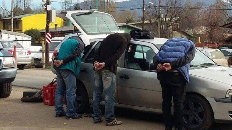 Tres detenidos con marihuana en San Martín de los Andes.