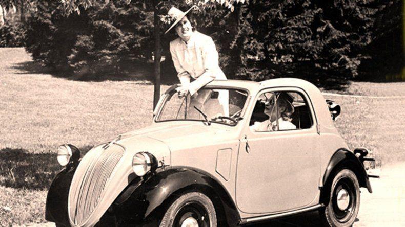 Una de las primeras imágenes publicitarias del Topolino.