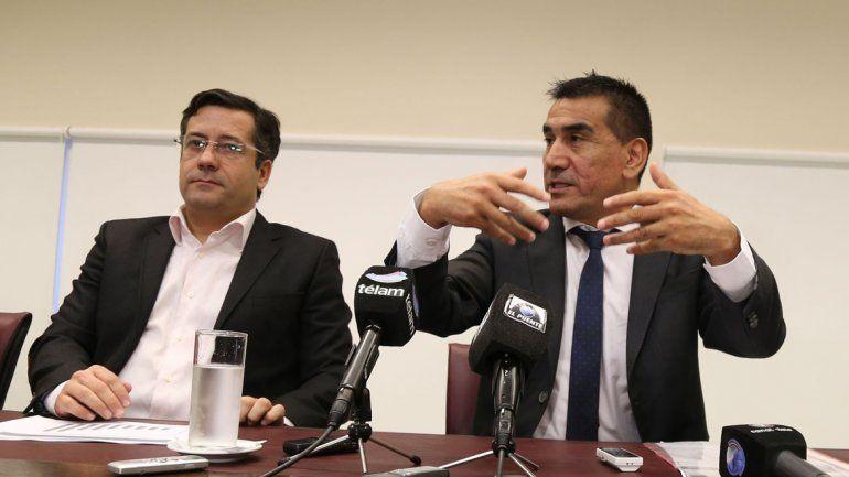 Mansilla y Rioseco presentaron amparos en Zapala y General Roca.