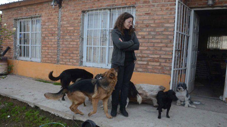 Martínez dijo que la vecina la denunció por el terreno.