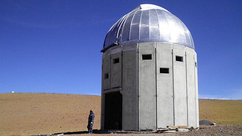 600 mil dólares salió la instalación de un observatorio óptico en el cerro Macón (Salta).