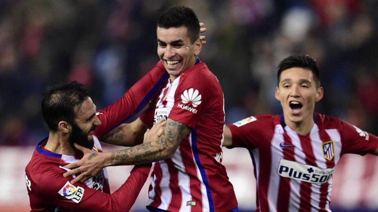 El jugador ya debutó en el Colchonero con buenas actuaciones y goles.