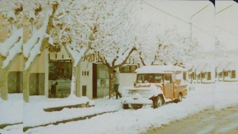 Se cumplen 34 años de la nevada del siglo en Neuquén