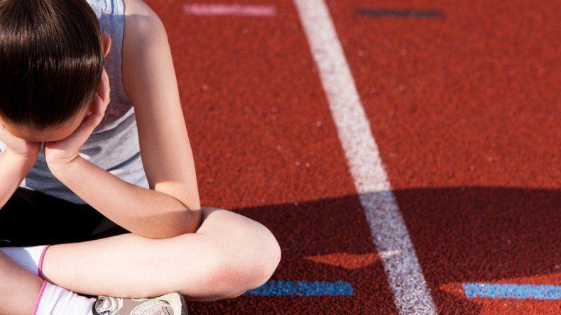 Los deseos de los padres muchas veces complican más la situación de un chico que se frustra en el deporte.