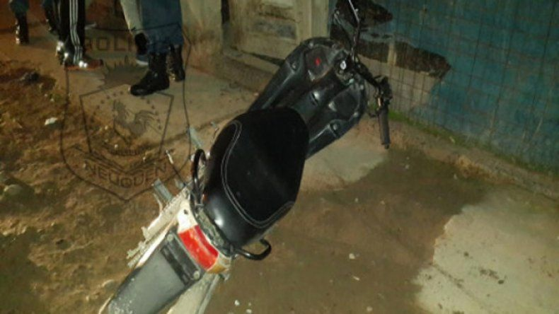 Detuvieron a un motochorro luego de que le arrebatara el celular a una mujer
