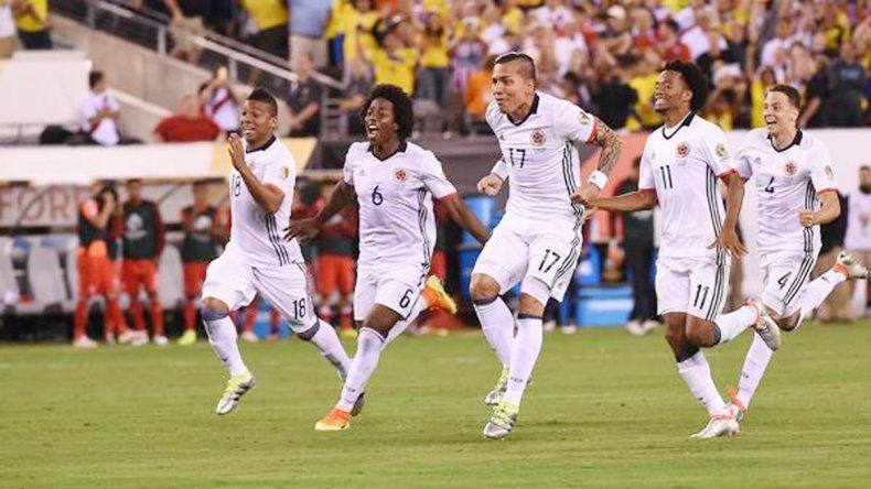 Colombia se impuso ante Perú desde los doce pasos.