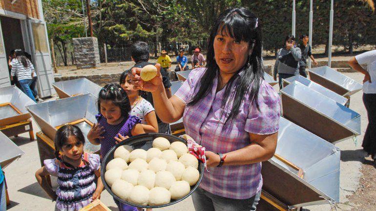 Los hornos pueden mejorar la vida en el campo y entre los mapuches.