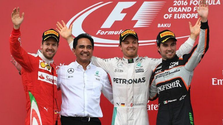 Rosberg se llevó el Gran Premio de Europa y amplió su ventaja