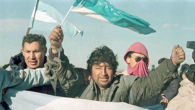 La protesta se extendió rápidamente por toda la región petrolera.
