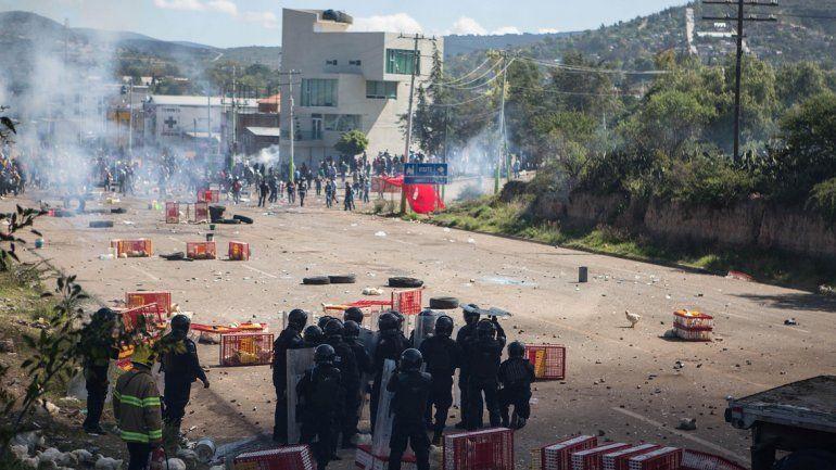 El hecho sucedió en Oaxaca.