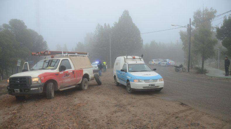 Dos heridos en distintos accidentes provocados en medio de la niebla