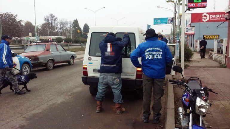 Gran despliegue policial en la Ruta 22 por una denuncia anónima