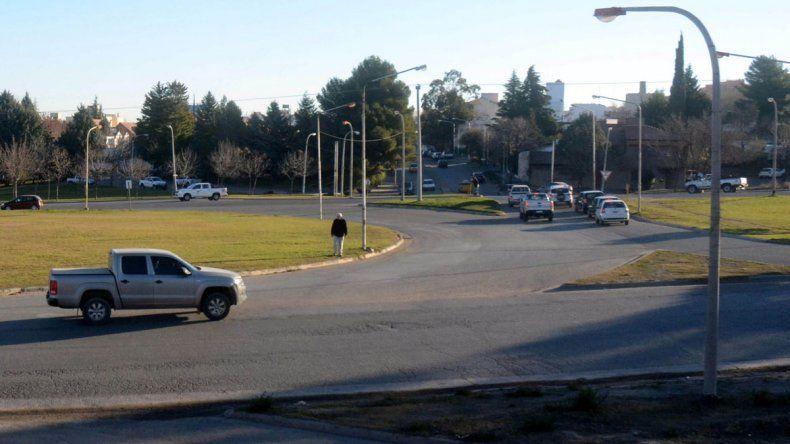 En la rotonda de Ruta 7 se podrá hacer trasbordo a otros sectores de la ciudad.