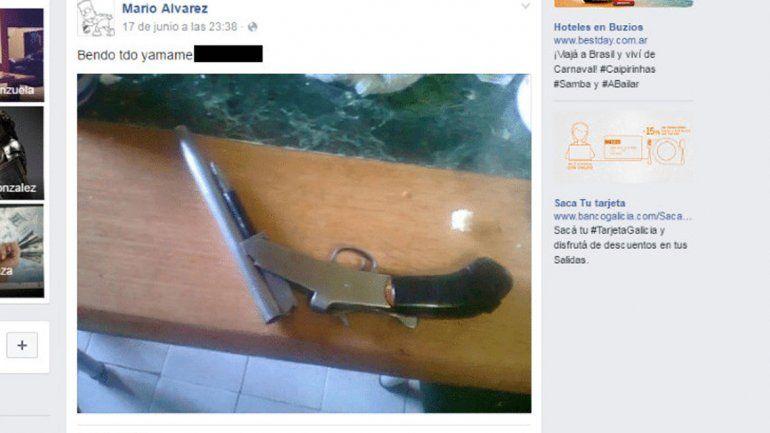 En el muro de Facebook