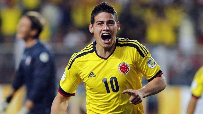 James Rodríguez y Alexis Sánchez son las cartas más importantes de Colombia y Chile.