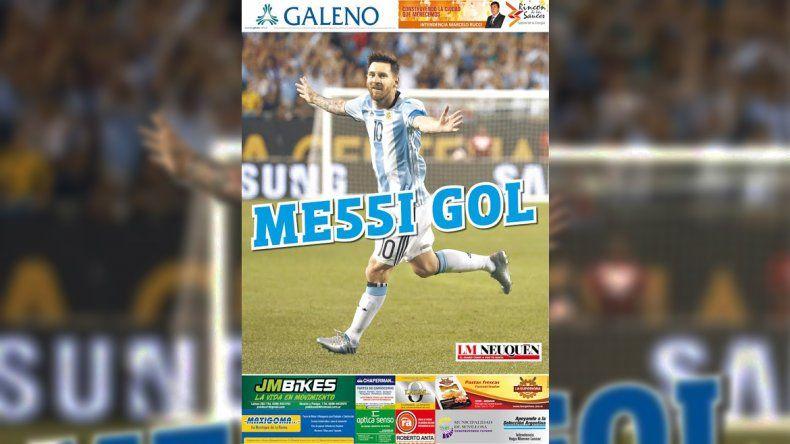 Con la edición impresa de LM Neuquén pedí tu póster de Messi