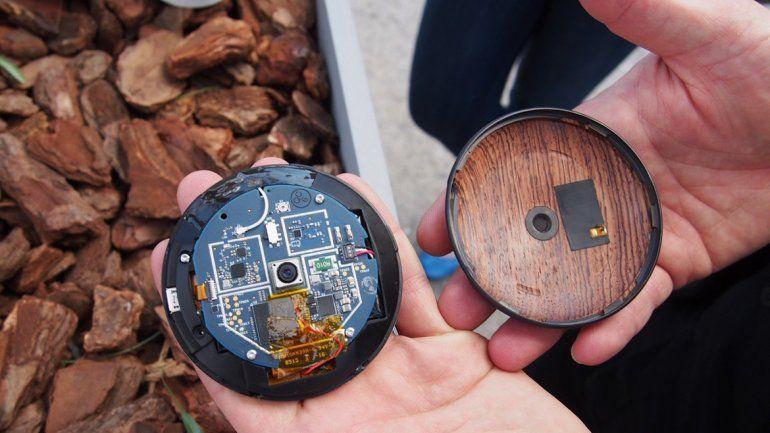 El diseño del smartphone Runcible es particular: redondo