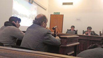 Milton Alejandro Riquelme, alias Gigoló, ayer durante el juicio.