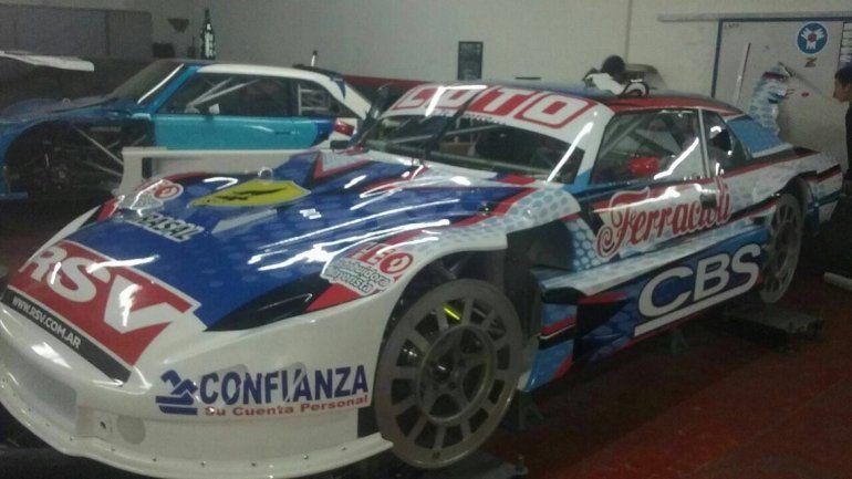 El nuevo auto de Camilo, con el que retorna tras la sanción